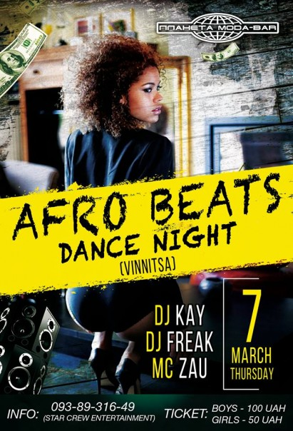 Afro Beats Dance Night