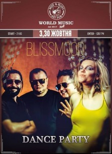 30 oct. BLISSMOOD cover band